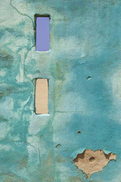 Photograph - Blue Weathered Wall Of Aruba  by David Letts