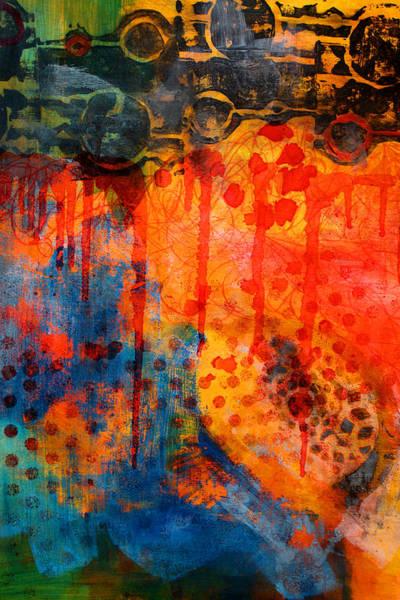 Ultramarine Blue Painting - Blue Whisper by Nancy Merkle