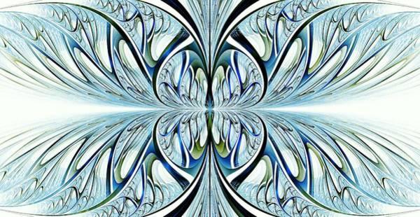 Digital Art - Blue Wings by Anastasiya Malakhova