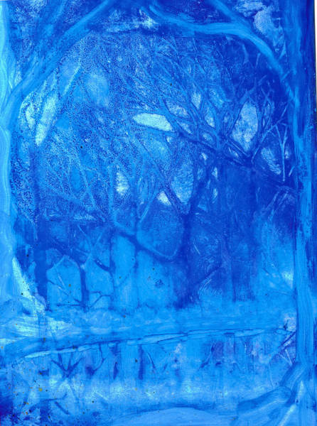 Painting - Blue Winter by Kelly Dallas
