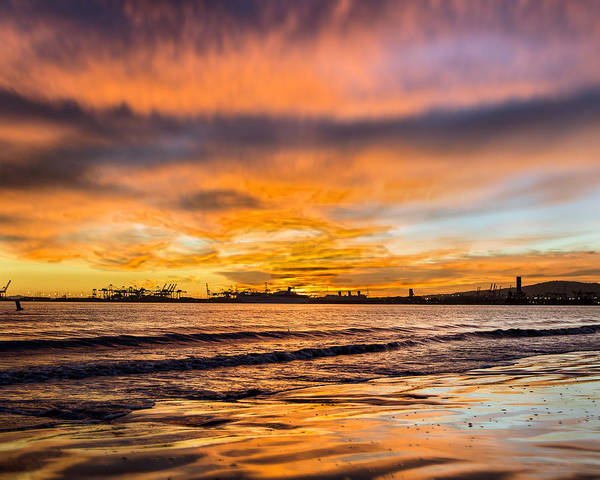 Photograph - Blueberry And Tangerine Sky by Denise Dube