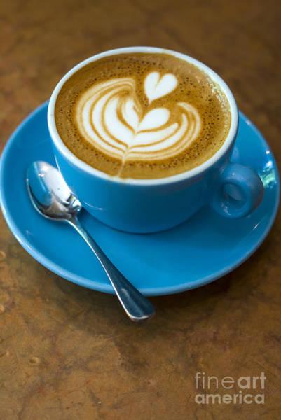 Photograph - Bluebird Coffee Nyc by Rafael Macia