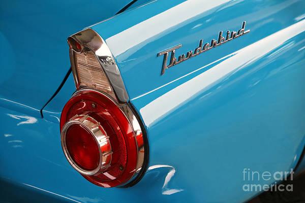 1956 Ford Thunderbird Photograph - Bluebird by Dennis Hedberg