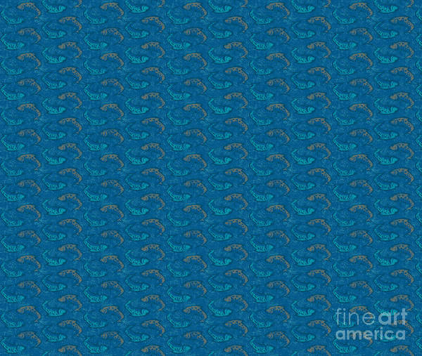 Painting - Bluen Ying Yang Fish Douvet Pillow Design by JQ Licensing