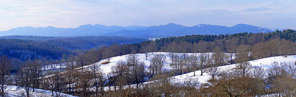 Photograph - Blueridge Mountains In Winter by Duane McCullough