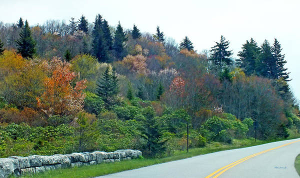 Photograph - Blueridge Parkway View At Mm 423 by Duane McCullough