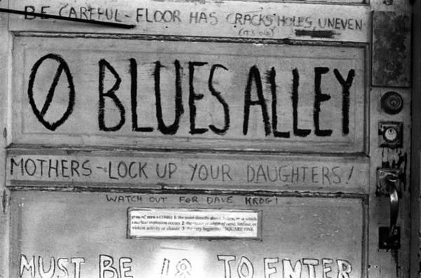 Blues Alley Art Print