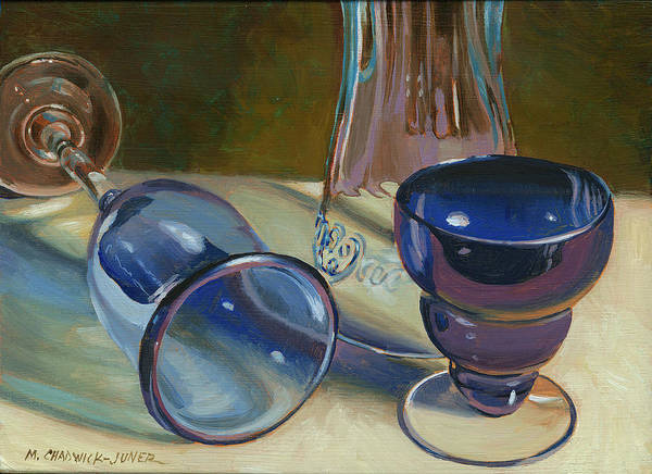Coca Cola Painting - Blues Brothers I by Marguerite Chadwick-Juner