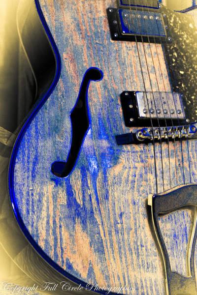 Fret Board Photograph - Blues Guitar by Pandyce McCluer