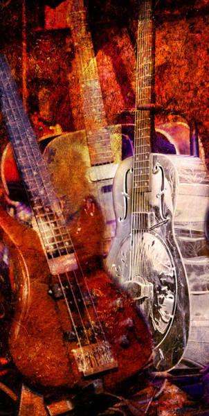 Photograph - Blues Guitars by Bob Coates