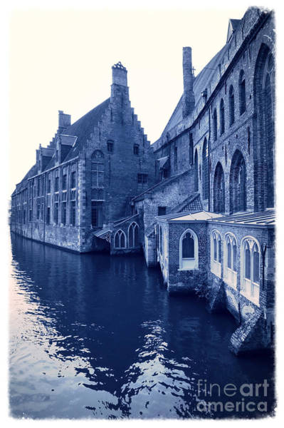 In Bruges Photograph - Blues In Bruges by Carol Groenen