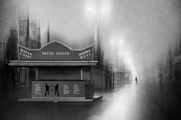 Filter Photograph - Blues Killer by Roswitha Schleicher-schwarz
