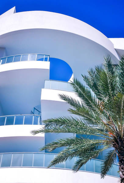 Photograph - Blues Of Miami by Karen Wiles