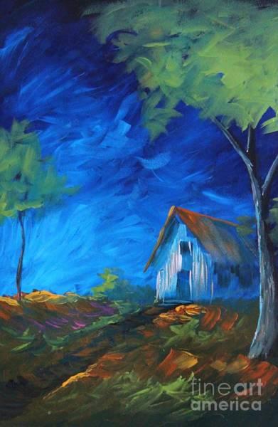Wall Art - Painting - Blues by Steven Lebron Langston