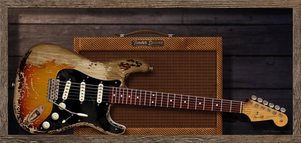 Electric Guitar Digital Art - Blues Tools by WB Johnston