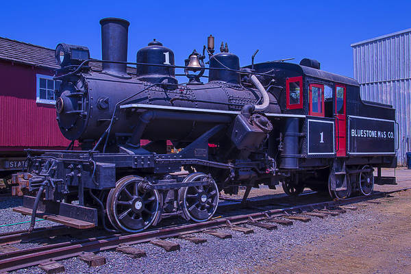 Loco Wall Art - Photograph - Bluestone Train Number One by Garry Gay