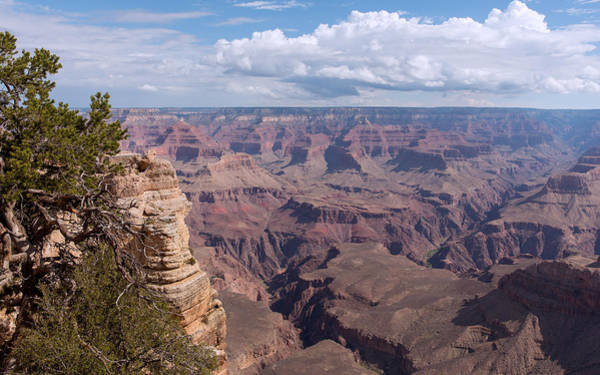Photograph - Bluffs And Gorges Within The Grand Canyon by John M Bailey