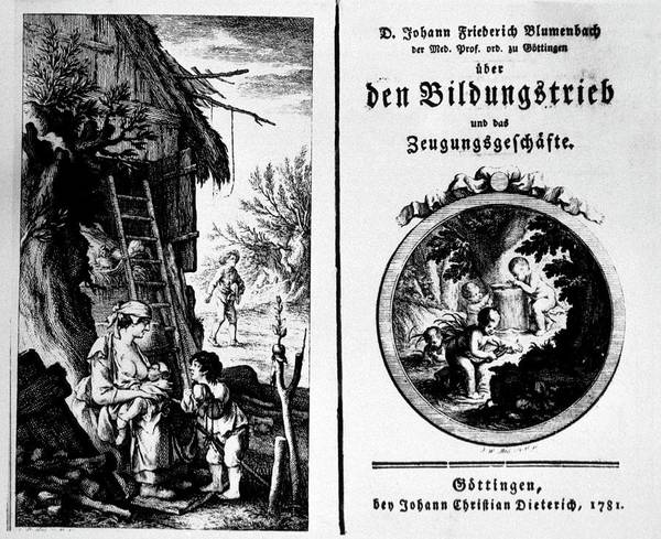 Title Page Wall Art - Photograph - Blumenbach's Formative Drive Theory by National Library Of Medicine