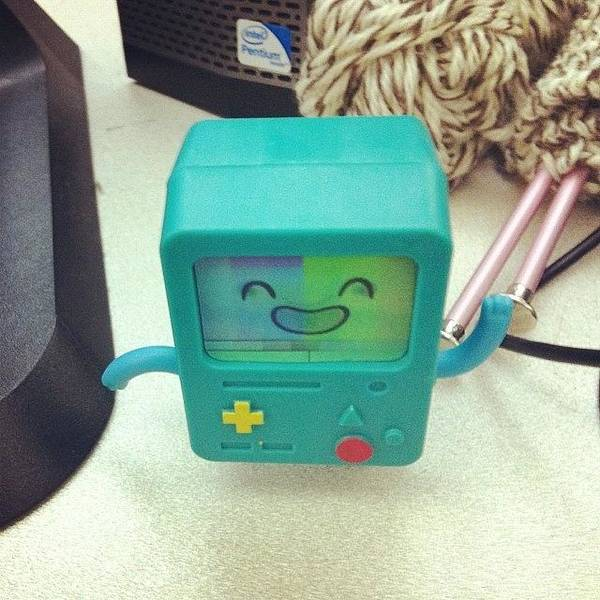 Photograph - Bmo Is My New Desk Buddy ❤️ by Mary Wilkinson