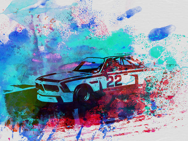 Concept Painting - Bmw 3.0 Csl  by Naxart Studio