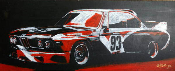 Painting - Bmw Csl by Richard Le Page