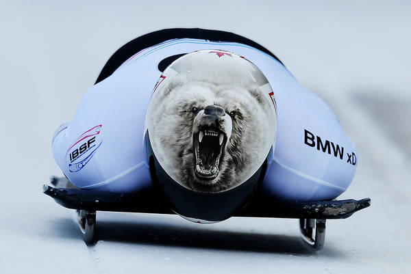 Barrett Photograph - Bmw Ibsf World Cup Innsbruck - Day 1 by Matthias Hangst