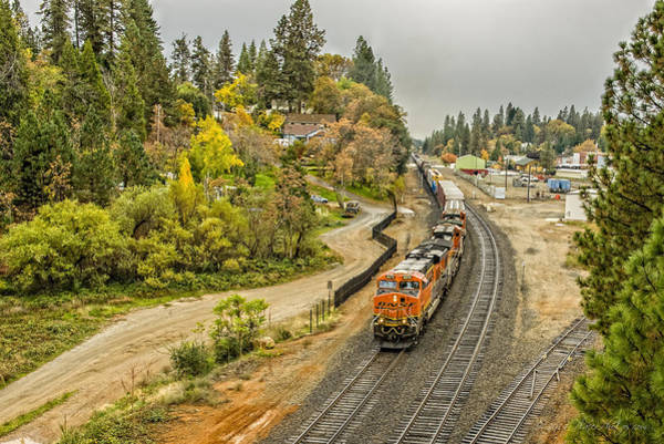 Photograph - Bnsf 6270 by Jim Thompson