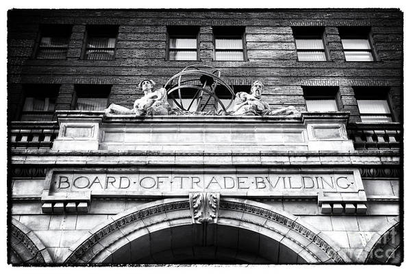 Photograph - Board Of Trade Building by John Rizzuto