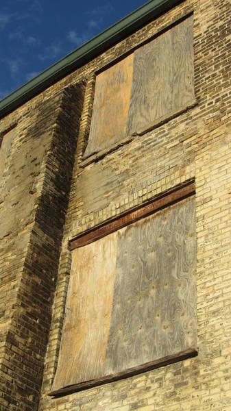 Photograph - Boarded Windows 1 by Anita Burgermeister