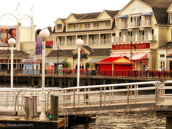 Adventureland Photograph - Boardwalk Bakery Walt Disney World by Thomas Woolworth
