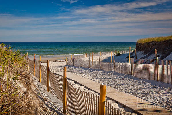 Wall Art - Photograph - Boardwalk To Cape Cod Bay by Susan Cole Kelly