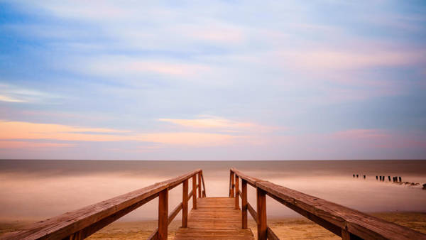 Photograph - Boardwalk To Paradise by Keith Allen