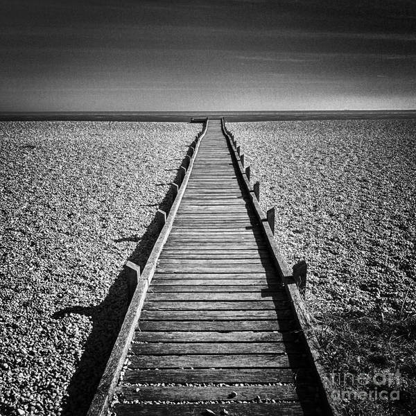 Wall Art - Photograph - Boardwalk To The Sea by Colin and Linda McKie