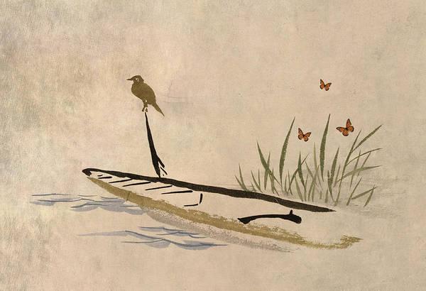 Harmony Digital Art - Boat by Aged Pixel