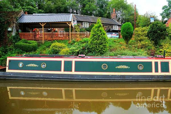 Photograph - Boat And Barge by David Birchall