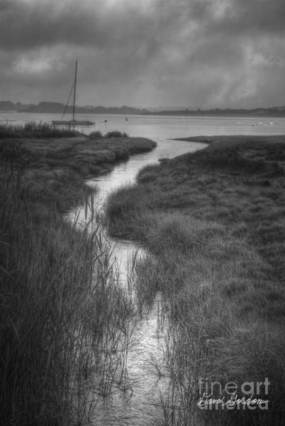 Photograph - Boat And Tidal Stream by David Gordon