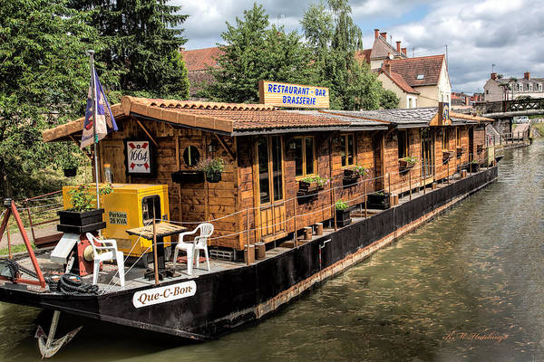 Wall Art - Photograph - Boat Brasserie  by Keith Hutchings