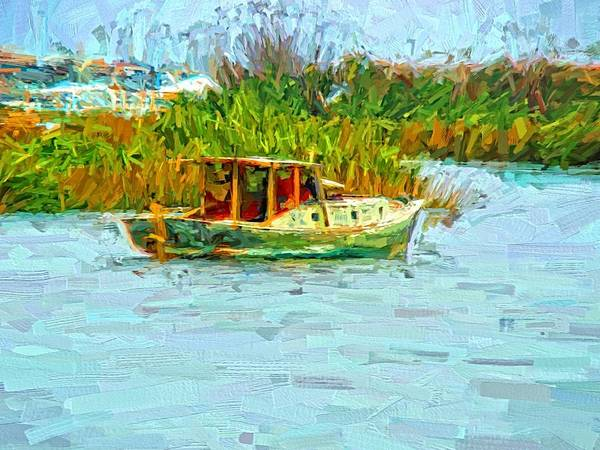Photograph - Boat Colors by Alice Gipson
