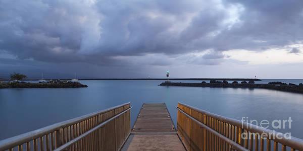 Photograph - Boat Dock At Kawaihae Harbor by Charmian Vistaunet