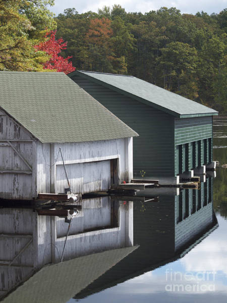 Photograph - Boat House by Patricia A Griffin