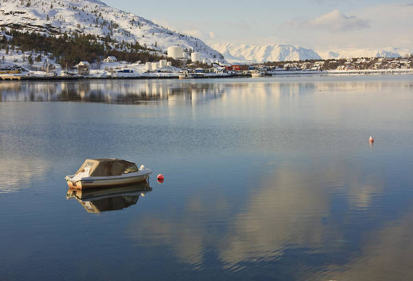 Photograph - Boat In The Arctic Circle by Susan Leonard