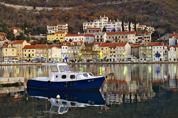 Photograph - Boat In The Bakar Bay by Ivan Slosar