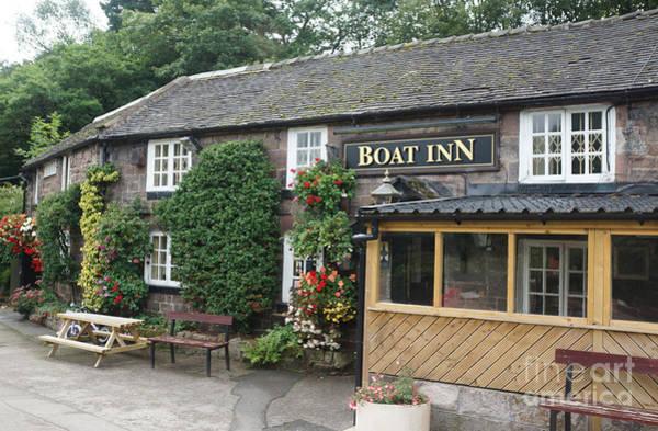 Photograph - Boat Inn At Cheddleton by David Birchall