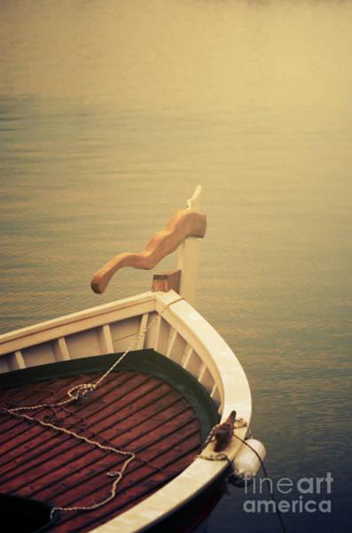 Bow River Wall Art - Photograph - Boat by Jelena Jovanovic