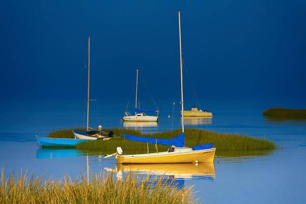 Wall Art - Photograph - Boat Meadow by Dapixara Artwork