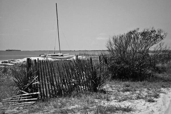 Photograph - Boat On Beach  Wat 157 by G L Sarti