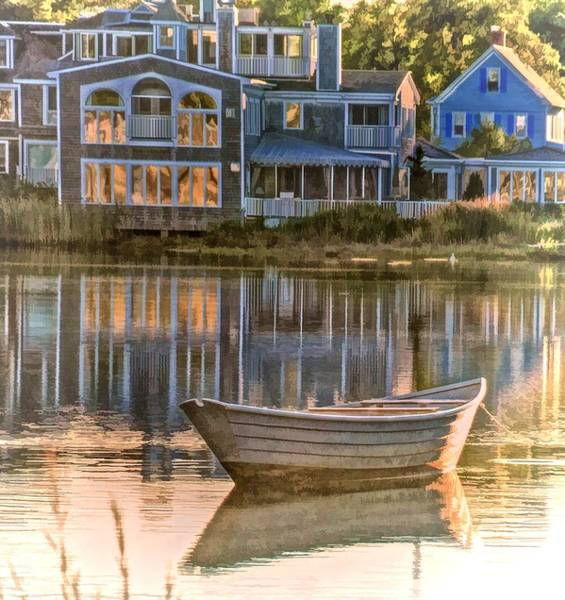 Photograph - Boat On Kennebunk River by Phyllis Meinke