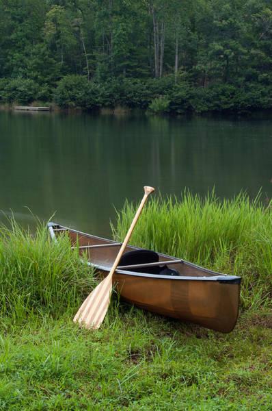 Photograph - Boat On Lake by Joye Ardyn Durham