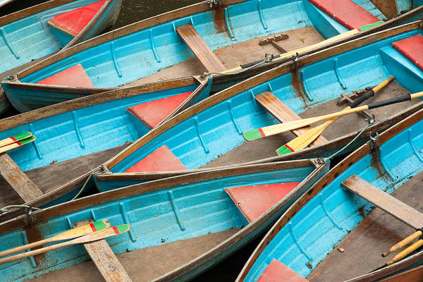 Photograph - Boat Rentals At Oxford Uk by Rob Huntley