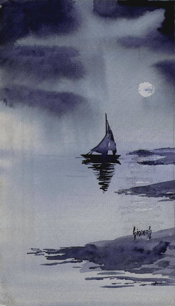 Painting - Boat by Sam Sidders
